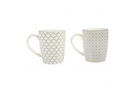 Tasse porcelaine Pampilles