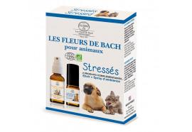 Fleurs de Bach animaux de compagnies stressés
