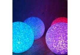 Set de 3 bougies LED + télécommande