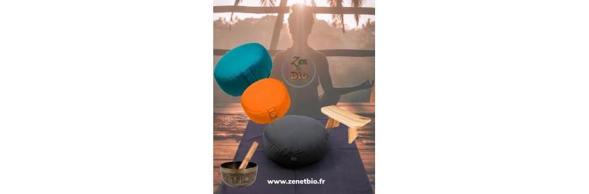 Coussins de méditation / bancs